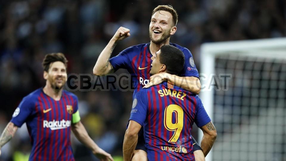 صور مباراة : توتنهام - برشلونة 2-4 ( 03-10-2018 )  100648008