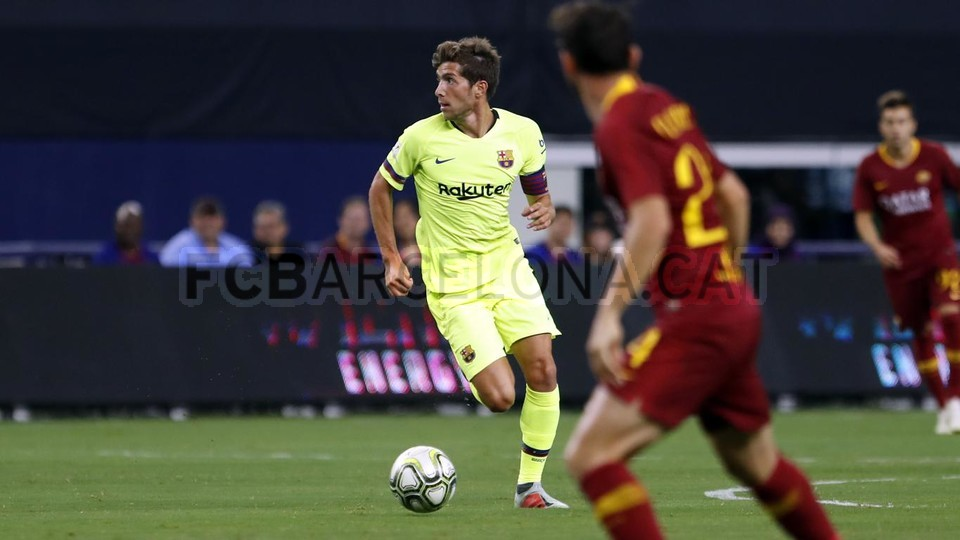 صور مباراة : برشلونة - روما 4-2 ( 01-08-2018 )  95179848