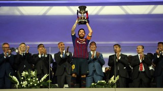 Messi, the player with most honours in Barça history