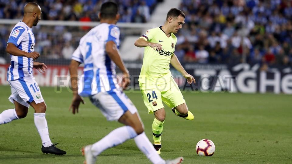 صور مباراة : ليغانيس - برشلونة 2-1 ( 26-09-2018 ) 99786057