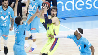 Movistar Estudiantes - Barça Lassa: Road win on tough court (84-101)
