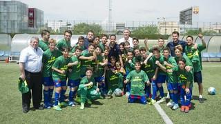L'Infantil B supera el Tortosa per 4-0 i es proclama campió de lliga