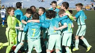 The best Masia teams' goals (8-9 april 2017)