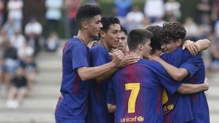 U19A v Girona FC: Blaugranas top the table (3-0)