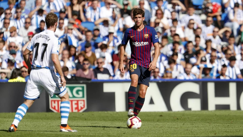 صور مباراة : ريال سوسيداد - برشلونة 1-2 ( 15-09-2018 ) 98507338