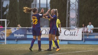 Zaragoza CFF 0 - 9 FC Barcelona (League)