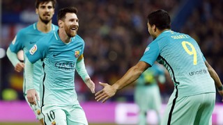 At. Madrid 1 - FC Barcelona 2 (1 minuto)