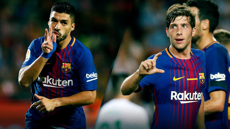 L'uruguaià i el català han arribat, davant el Girona, a la centena de duels a la màxima competició domèstica, de la qual han conquerit dos títols