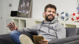 Gerard Piqué speaks about his 25th Clásico with Facebook fans