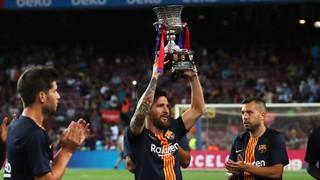 Especial Leo Messi ofereix Super copa a l'afició FCB 2018/2019