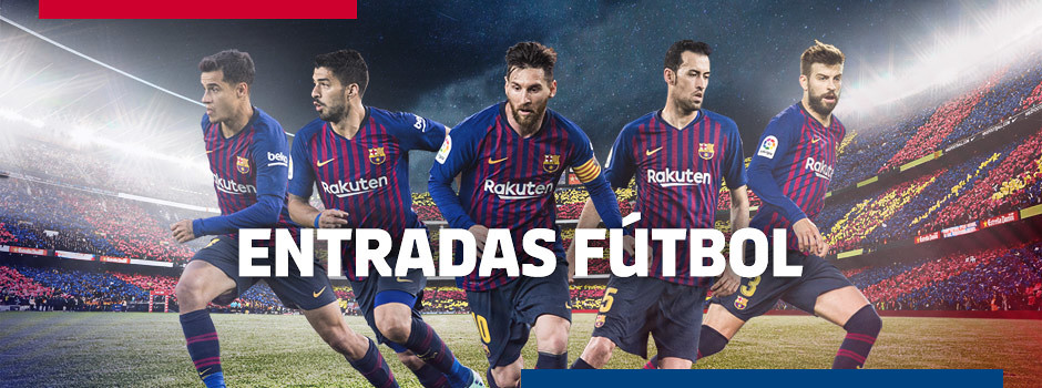 Entradas oficiales del FC Barcelona para la Temporada 18/19