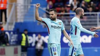 Eibar 0 - FC Barcelona 2 (1 minute)