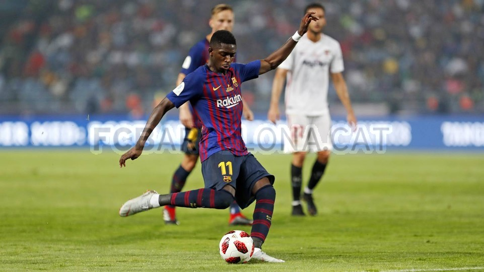 صور مباراة : برشلونة - إشبيلية 2-1 ( 13-08-2018 )  95786063