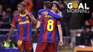 GOAL MORNING!!! Andrés Iniesta vs Deportivo de la Coruña