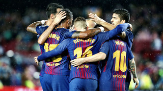 Enjoy Leo Messi's 100th goal in UEFA competition and Lucas Digne's first strike of the season in the blaugranes 3-1 win over their Greek opposition