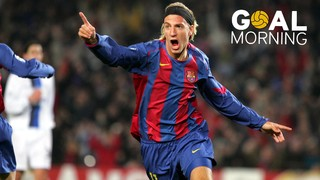 Goal Morning! This was the first goal of Maxi López with Barça!