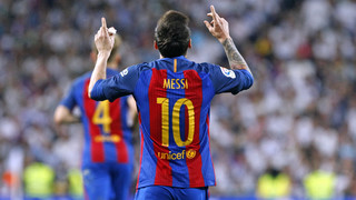 All the goals of Leo Messi in the Spanish Super Cup