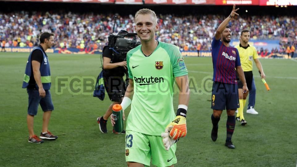 صور مباراة : برشلونة - بوكا جونيورز ( 16-08-2018 )  95974992