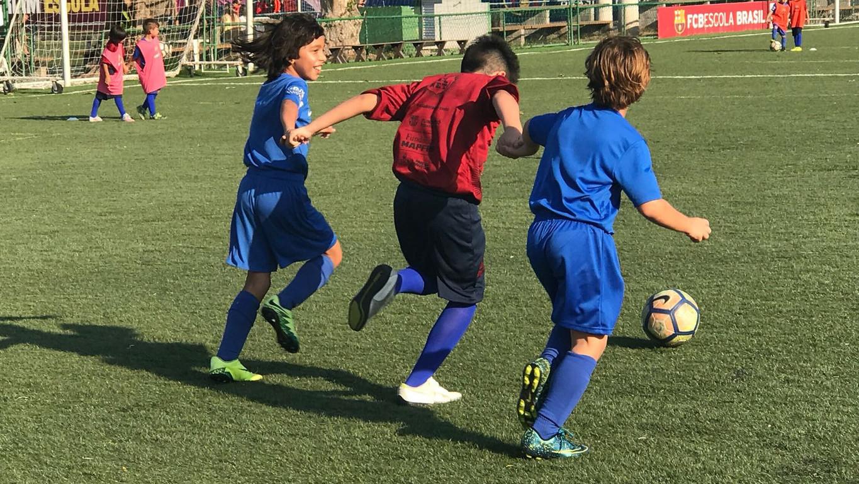 La jornada s'emmarca en el projecte que desenvolupa la Fundació FC Barcelona i Fundación MAPFRE a la Comunitat de Maré