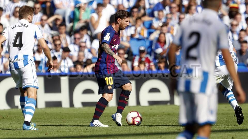 صور مباراة : ريال سوسيداد - برشلونة 1-2 ( 15-09-2018 ) 98507344