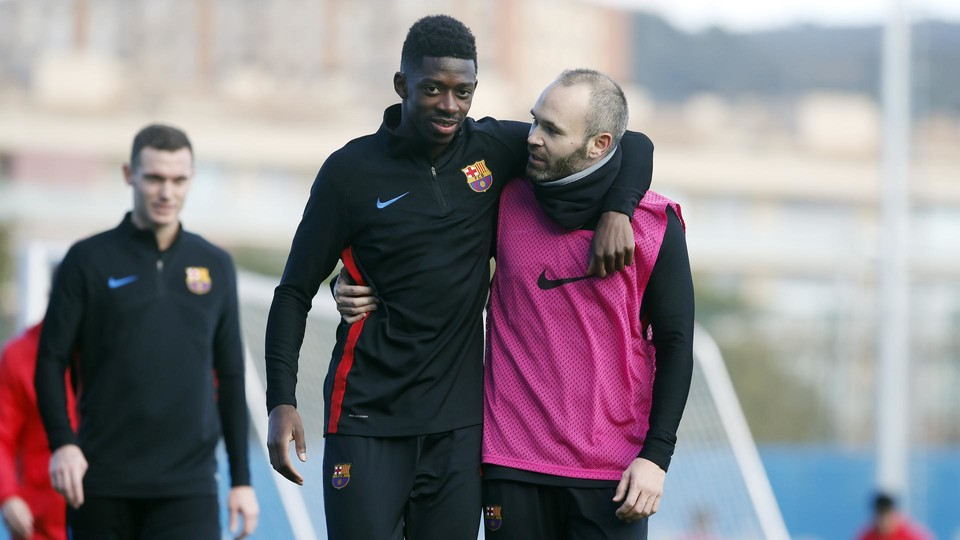 Dembélé out for three to four weeks - FC Barcelona
