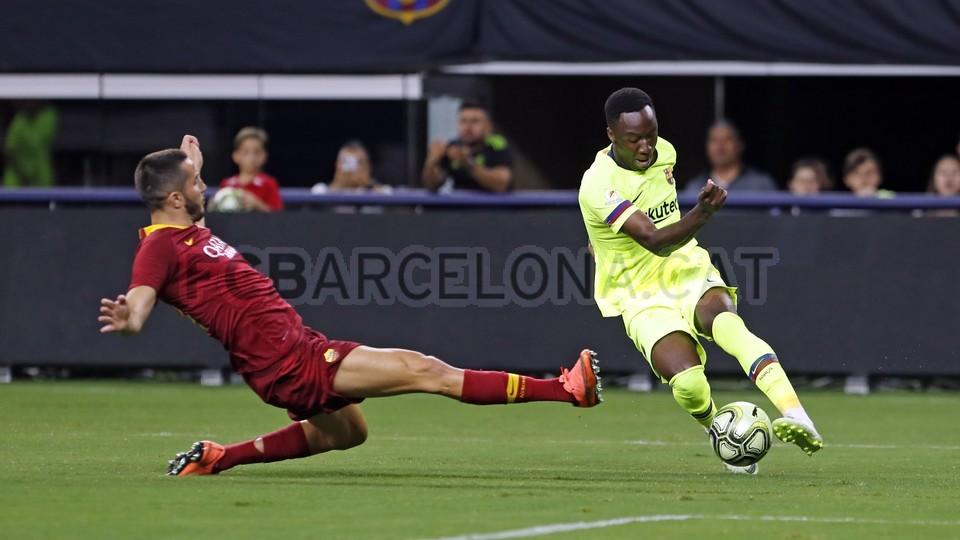 صور مباراة : برشلونة - روما 4-2 ( 01-08-2018 )  95181392