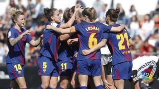 Valencia 1 - FC Barcelona 4 (Liga)