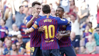 The Blaugrana go into the start of the LaLiga season in style, beating Boca Juniors at the Camp Nou