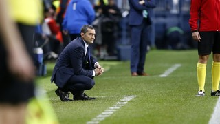 Valverde delighted with 'great first half' at Málaga