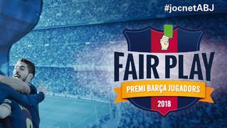 Els membres de l'Agrupació poden votar fins el 29 de juny el jugador del primer equip que pensin que ha destacat més pels seus valors durant l'última campanya