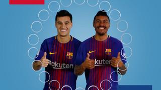 Barça emojis: Coutinho i Paulinho