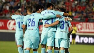 Con ventaja hacia el Camp Nou