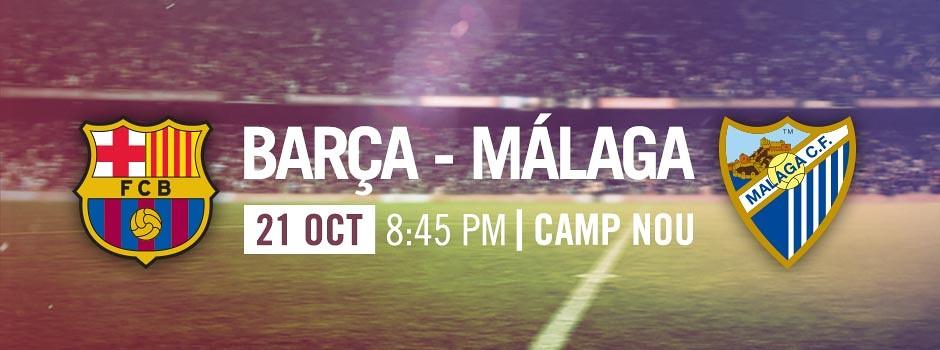Tickets FCB VS MALAGA