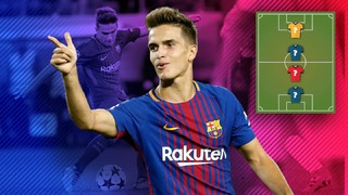 MY TOP 4: Denis Suárez