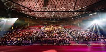 Los Deportes Amateurs del Barça celebran el acto de presentación de la temporada en el Palau Blaugrana