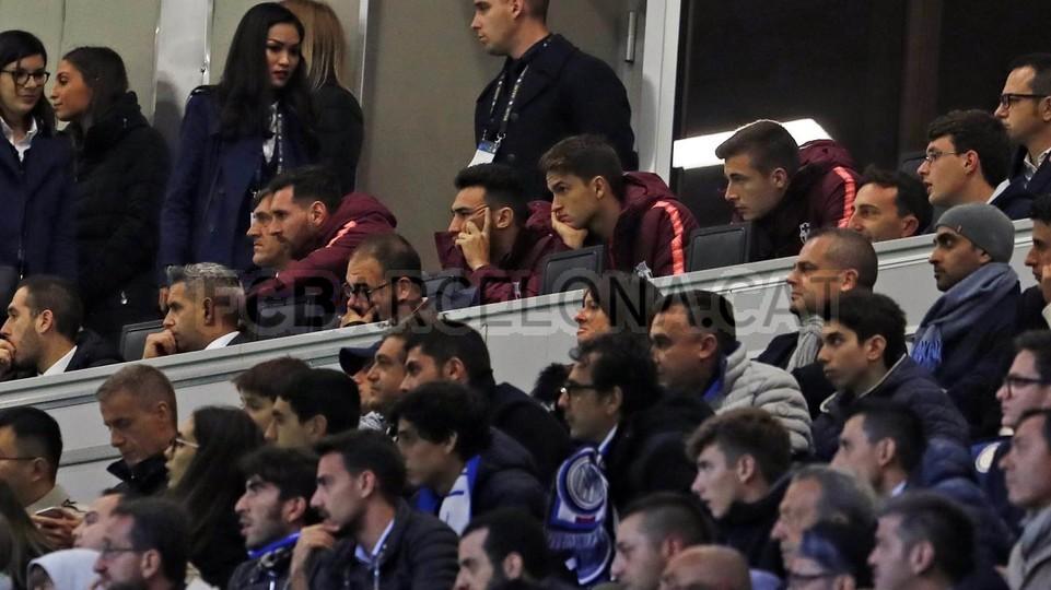 صور مباراة : إنتر ميلان - برشلونة 1-1 ( 06-11-2018 )  102161235