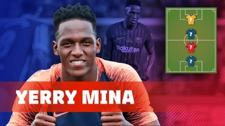 My Top 4: Yerry Mina reveals his heroes