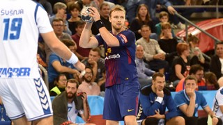 This was the debut of Pálmarsson with Barça