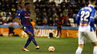 Follow Yerry Mina against Espanyol