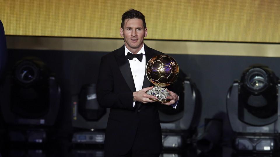 Golden! 2015 FIFA BALLON D\u0027OR  sc 1 st  FC Barcelona & Messi wins fifth Ballon d\u0027Or - FC Barcelona