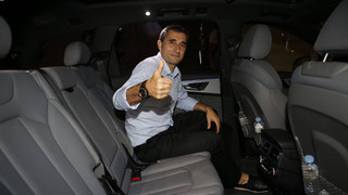 In the car with....Ernesto Valverde