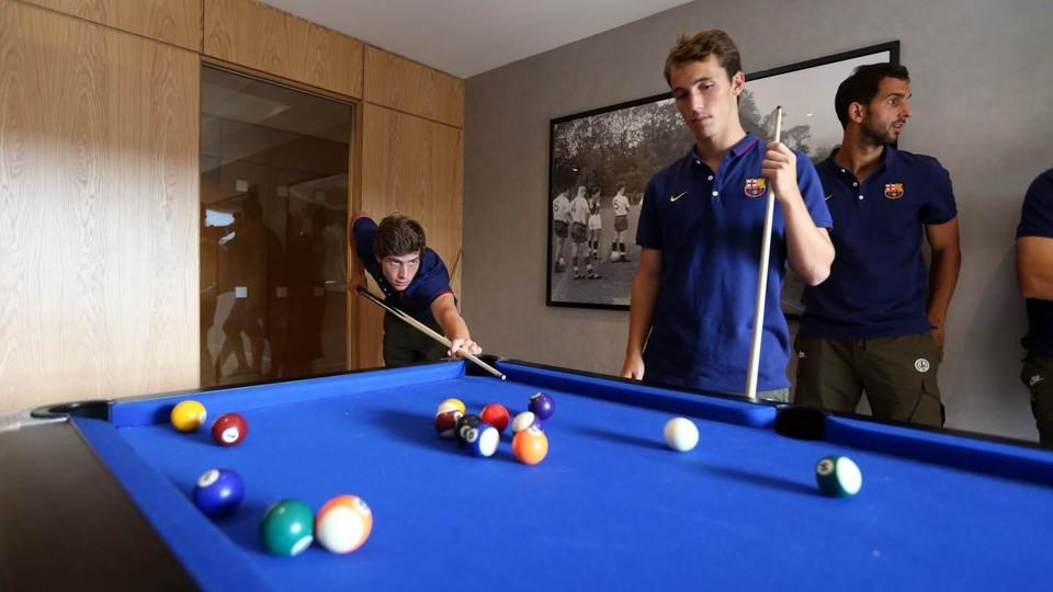 Pool Or Table Tennis FC Barcelona - Barcelona fc table