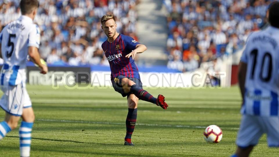 صور مباراة : ريال سوسيداد - برشلونة 1-2 ( 15-09-2018 ) 98507350