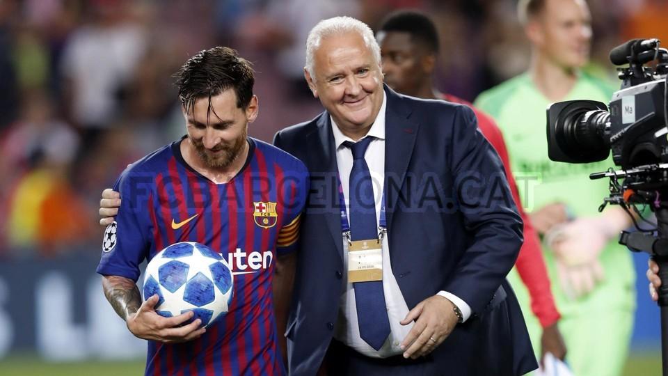 صور مباراة : برشلونة - PSV إندهوفن 4-0 ( 18-09-2018 )  98901846