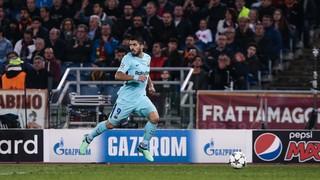 Roma 3 - FC Barcelona 0 (3 minutos)