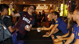 INSIDE TOUR #3 | American fans show love of Barça