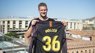 Kevin Möller ya luce como azulgrana