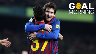 GOAL MORNING!!!  Màgic Messi!