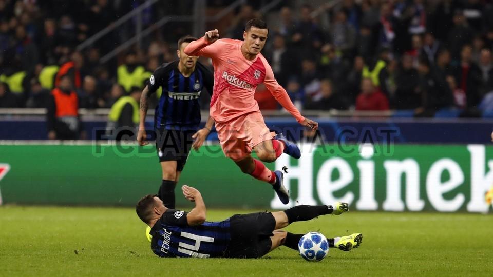 صور مباراة : إنتر ميلان - برشلونة 1-1 ( 06-11-2018 )  102164567