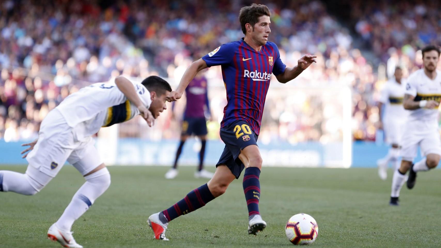 صور مباراة : برشلونة - بوكا جونيورز ( 16-08-2018 )  95974488